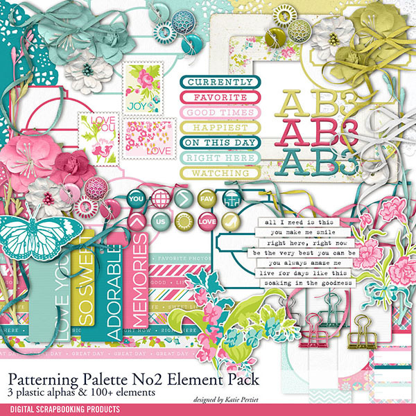 Patterning Palettes No. 02 Element Pack