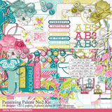 Patterning Palettes No. 02 Scrapbook Kit