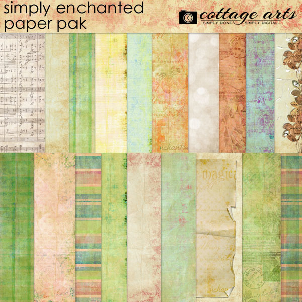 Simply Enchanted Paper Pak