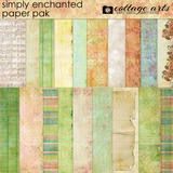 Simply Enchanted Paper Pak