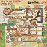 Simply Enchanted Page Pak