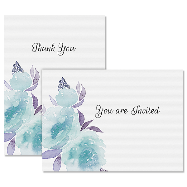 Sweet Floral Notecard Card