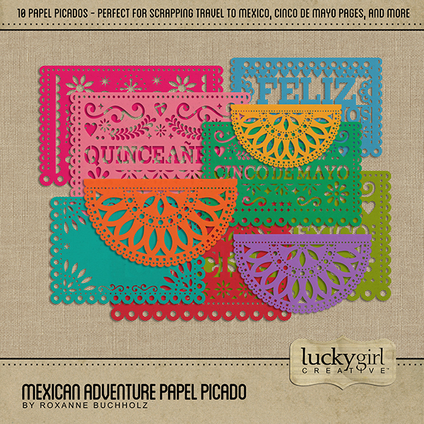Mexican Adventure Papel Picado