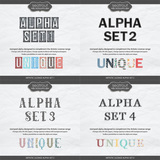 Artistic License Alpha Sets 1-4
