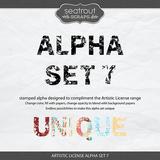 Artistic License Alpha Sets 5-8