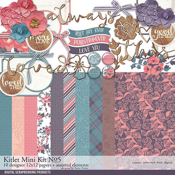 Kitlet Scrapbooking Mini-Kit No. 05