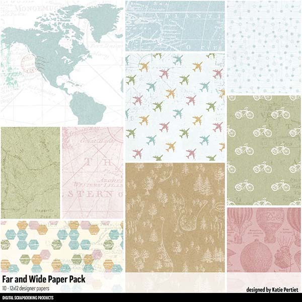 Far and Wide Paper Pack