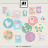 Bits of Spring -  Flair