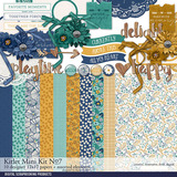 Kitlet Scrapbooking Mini-Kit No. 07