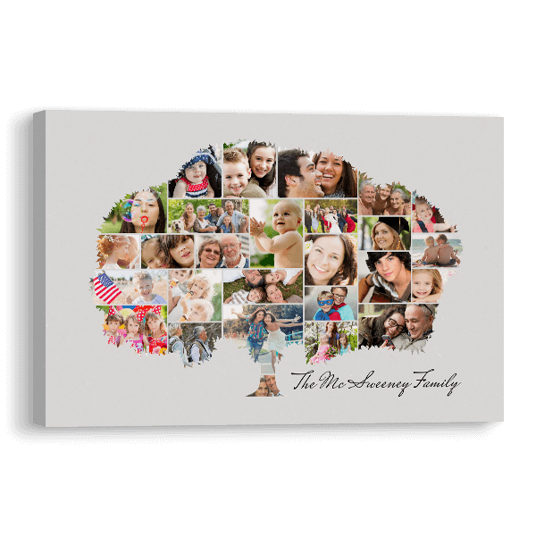 Our Family Tree Canvas Canvas