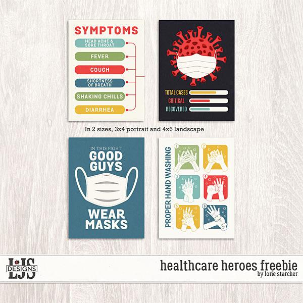 Healthcare Heroes Freebie Digital Art - Digital Scrapbooking Kits