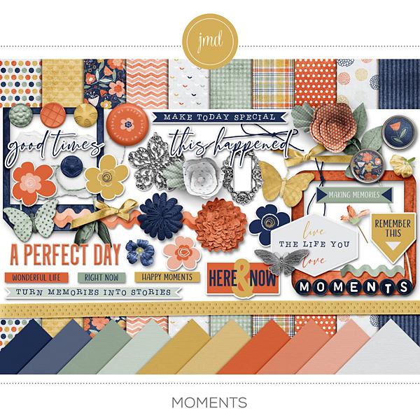 Moments Digital Art - Digital Scrapbooking Kits