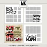 Patchwork Templates - Sports - Football