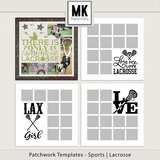 Patchwork Templates - Sports - Lacrosse