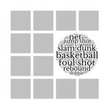 Patchwork Templates - Sports - Basketball