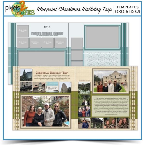 Blueprint Christmas Birthday Trip