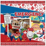 Rescue Heroes Paper Pack