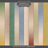 Escape to the Coast Ombre Papers