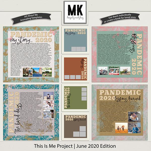 This Is Me Project - June 2020 Edition Digital Art - Digital Scrapbooking Kits