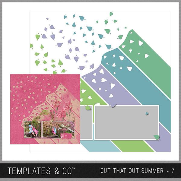 Cut That Out Summer - 7 Digital Art - Digital Scrapbooking Kits