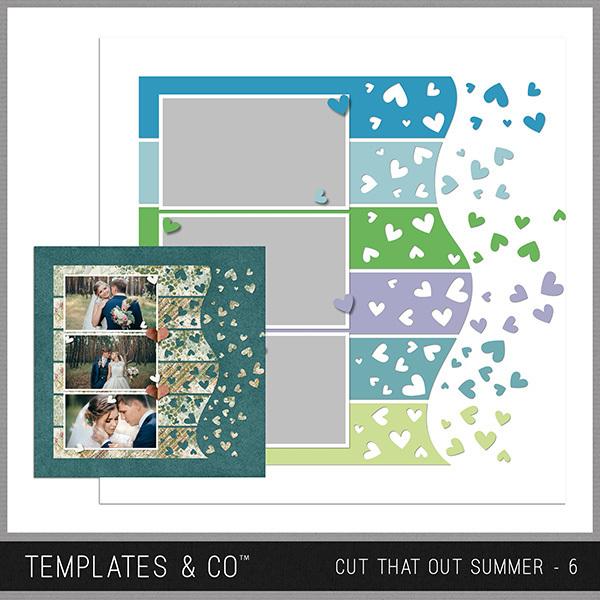 Cut That Out Summer - 6 Digital Art - Digital Scrapbooking Kits