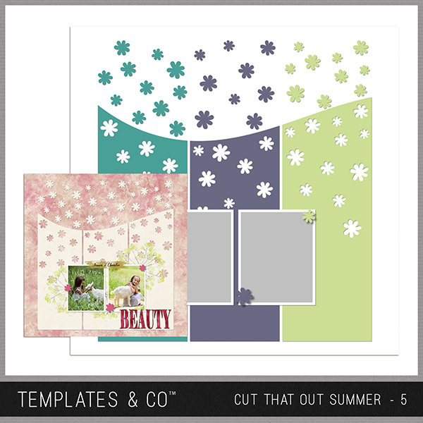 Cut That Out Summer - 5 Digital Art - Digital Scrapbooking Kits