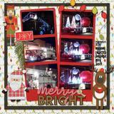 Big City Christmas Word Art