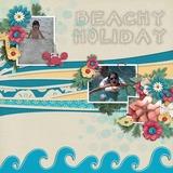 Beachside Christmas Journal Cards