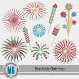 Beachside Christmas FIreworks Pack
