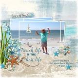 Ocean Bliss Template Set