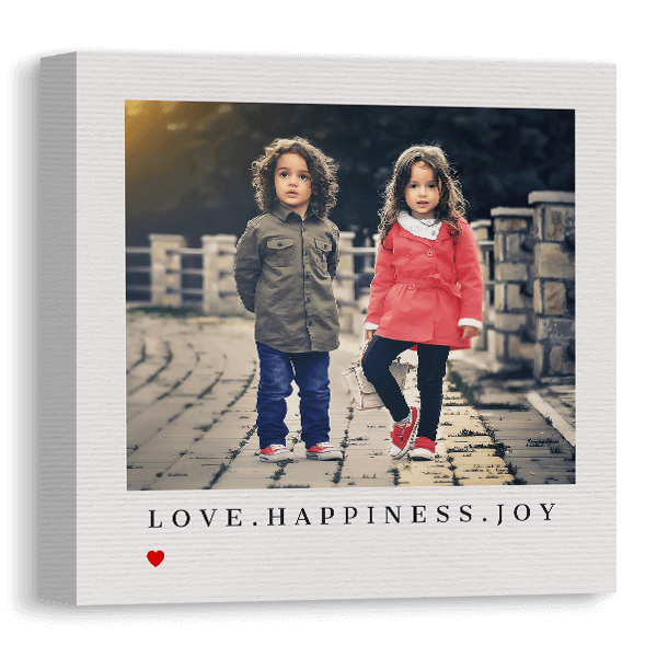 Love.Happiness.Joy Canvas Canvas