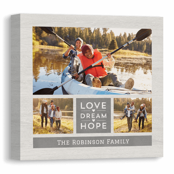 Love.Dream.Hope Canvas Canvas