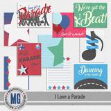 I Love A Parade Journal Cards
