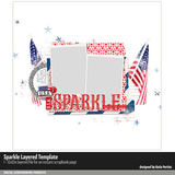 Sparkle Layered Template