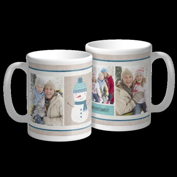Snowman Holiday Mug Mug