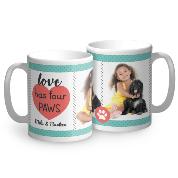 Love Has Four Paws Mug Mug