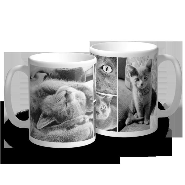 4 Photo Mug