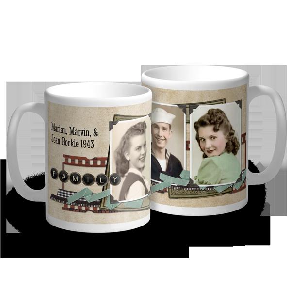 Vintage Family Memories Mug Mug