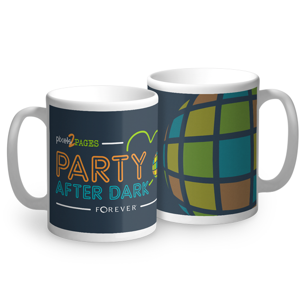 Party After Dark Mug Mug