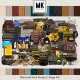 National Park Project Page Kit