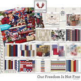 Our Freedom Is Not Free Embellishments