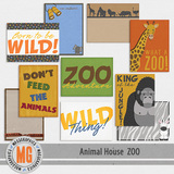 Animal House - Zoo Journal Cards