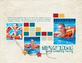 Poolside Pre-designed Book 11x8.5