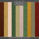 Escape to the Countryside Rustic Papers