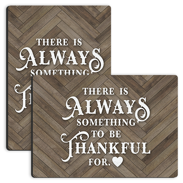 Always Thankful Tabletop Tabletop Panel