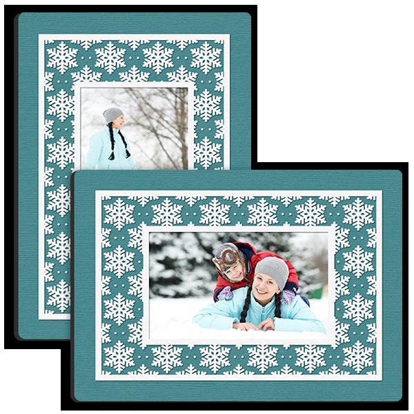 Bold Snowflake Tabletop Tabletop Panel