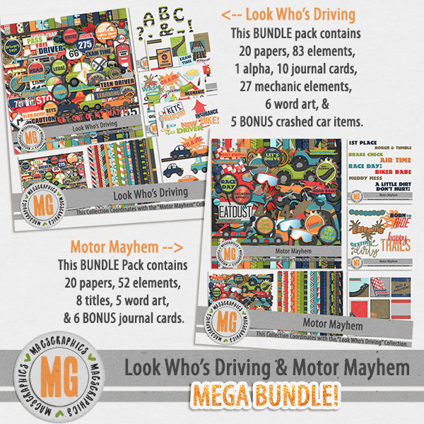 Look Who's Driving & Motor Mayhem MEGA Bundle