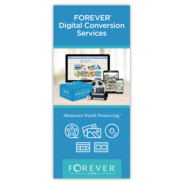 FOREVER Digital Conversion Services Brochure 25-pack