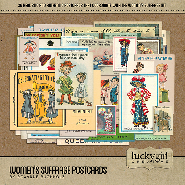 Womens Suffrage Postcards