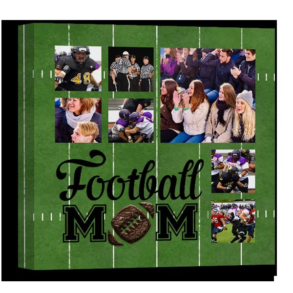 Football Mom Canvas Canvas
